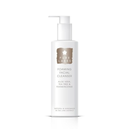 Pure Lakes Aloe Vera, Tea Tree & Frankincense Foaming Facial Cleanser