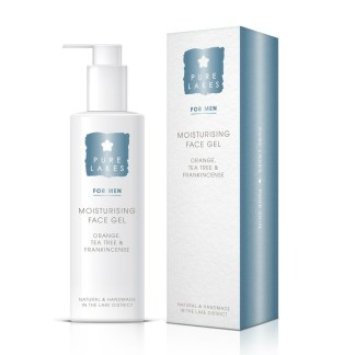 Pure Lakes Orange, Tea Tree & Frankincense Moisturising Face Gel