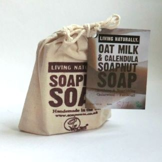 Living Naturally Oat Milk & Calendula Soapnut Soap