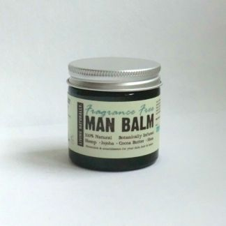 Living Naturally Fragrance Free Organic Man Balm