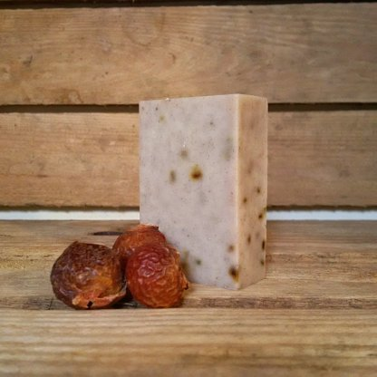 Living Naturally Rhassoul Clay & Rosemary Soapnut Shampoo Bar