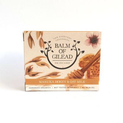 Balm of Gilead Manuka Honey and Oat Milk Soap