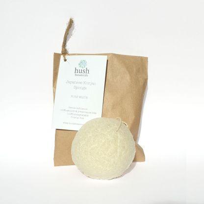 Hush Botanicals Pure White Konjac Sponge