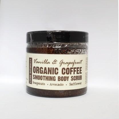 Living Naturally Organic Coffee Scrub