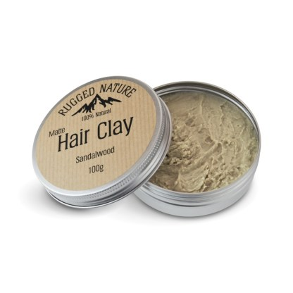 Rugged Nature Sandalwood Hair Clay
