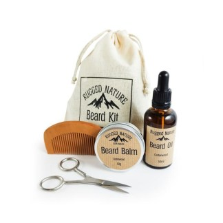 Rugged Nature Beard Kit Gift Set