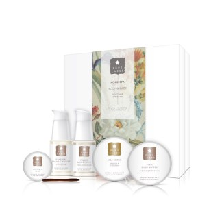 Pure Lakes Mimosa & Petitgrain Home Spa Face & Body Gift Box