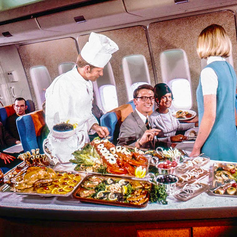 repas en avion 2