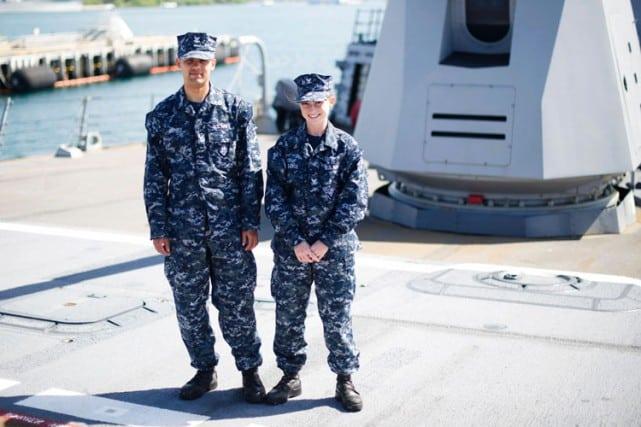 uniforme navy