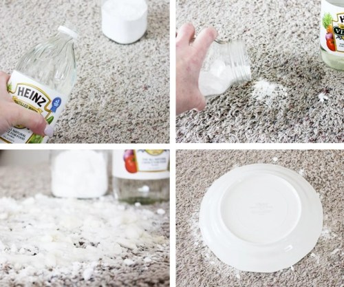 carpet stain removal household materials