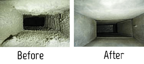 air duct Before And After Pictures