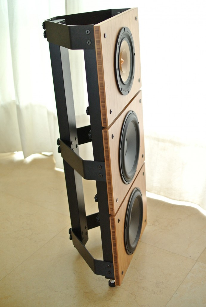 Two Speakers Speaker Stand