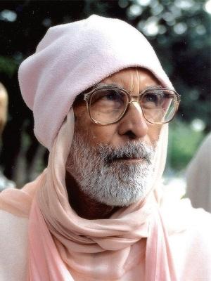 Gurudeva pink cap