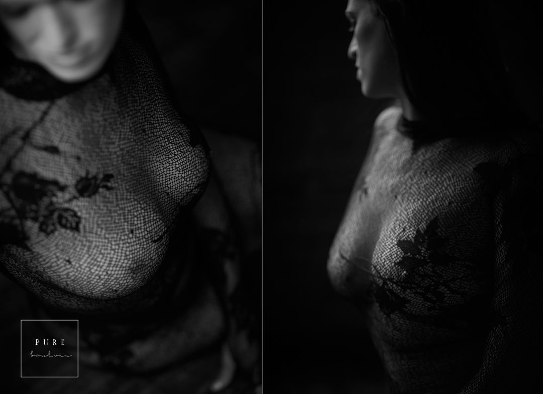 boudoir session with amazing breast cancer survivor lady