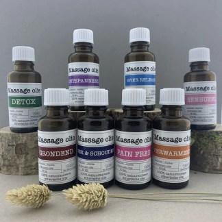 Cadeaupakket massageolie etherische olie - PURE by ME