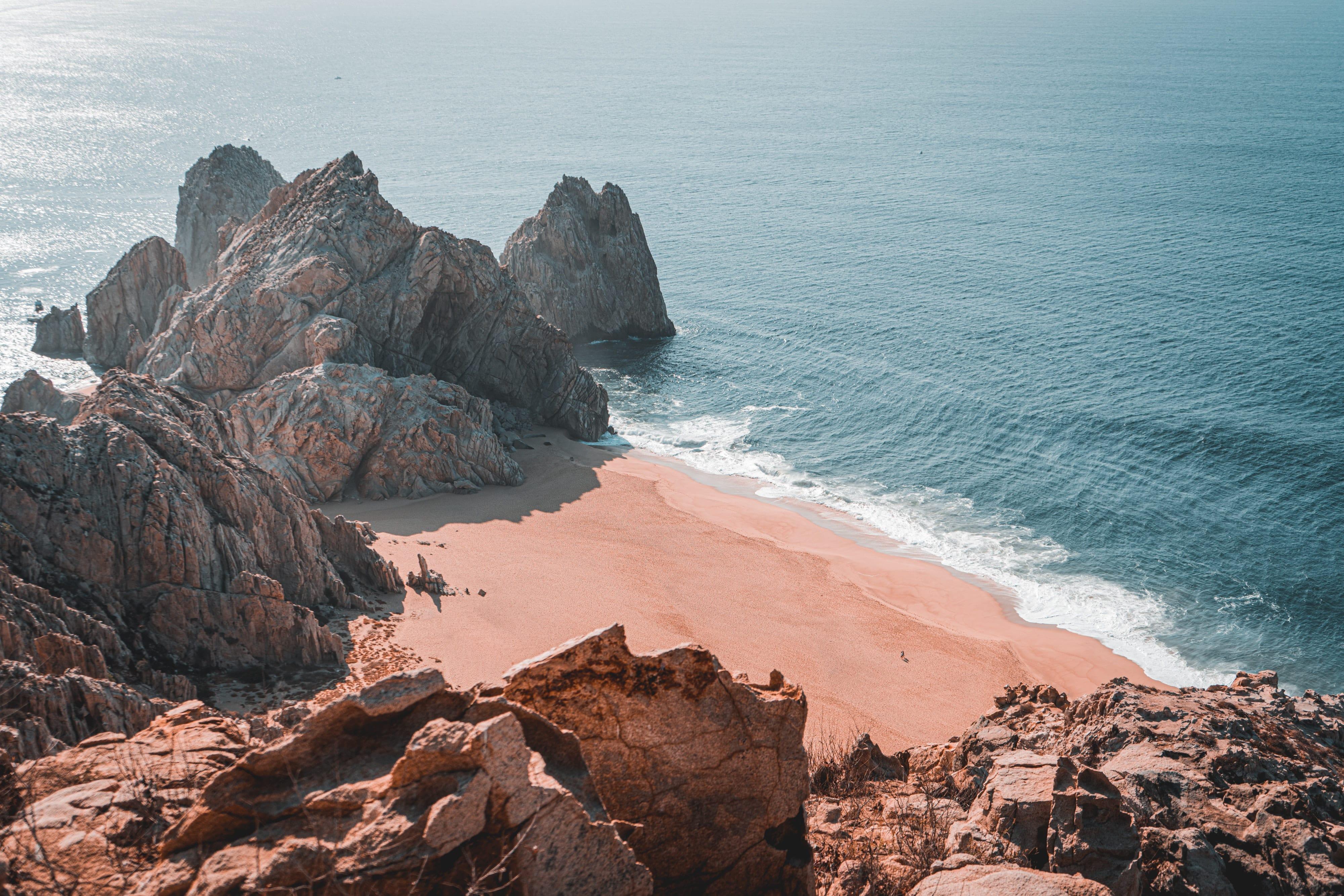 Cabo San Lucas Beach Rock Formations