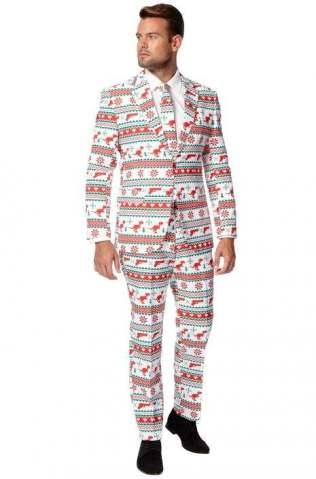 Gangstaclaus Suit Adult Costume