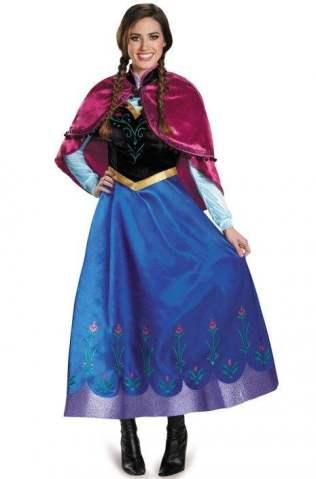 Anna Traveling Prestige Adult Costume