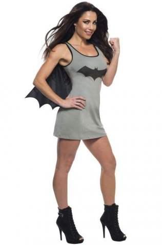 Batgirl Tank Dress Adult Costume
