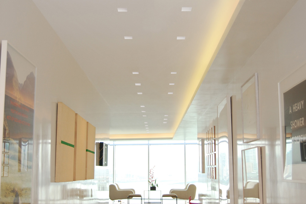 trimless led square