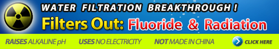 Anti-Radiation, Fluoride Reduction Water Filters | Raise PH!