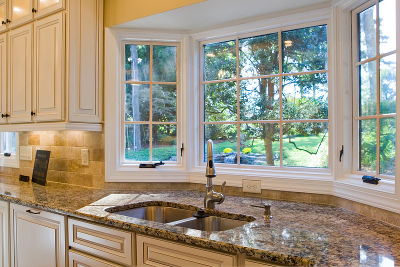 your kitchen character add a bay window