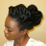 Twisted Bun Left Side
