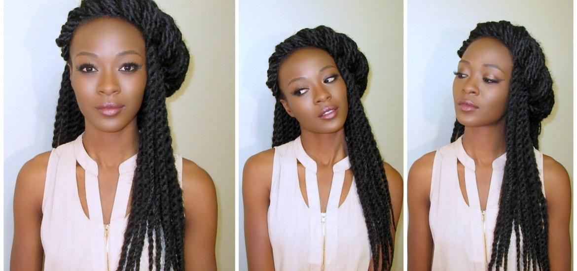 Crochet Senegalese Twists With Natural Parting Pure Estrogen