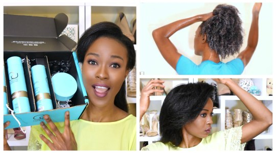 How To Flat Iron 4c Natural Hair : FLAWLESS By Gabrielle Union Hair Products