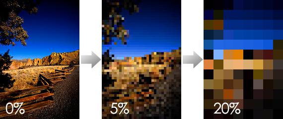 Pixelated Example