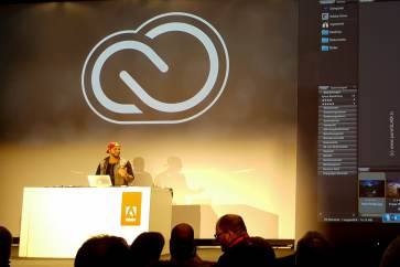 ADOBE Creative Cloud and Creative SYNC - Launch Event in Berlin - Monkeybar und Postbahnhof - Vorstellung Photoshop Lightroom 2015 - Mobile - Smartphone - Desktop