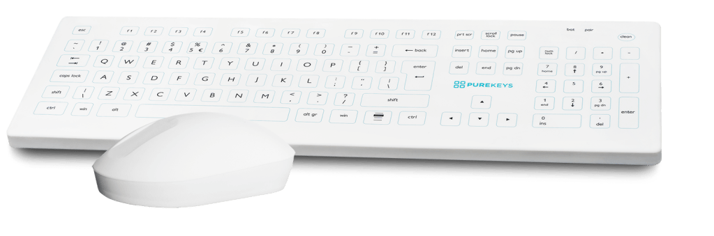 Purekeys Medical Keyboard and Mouse