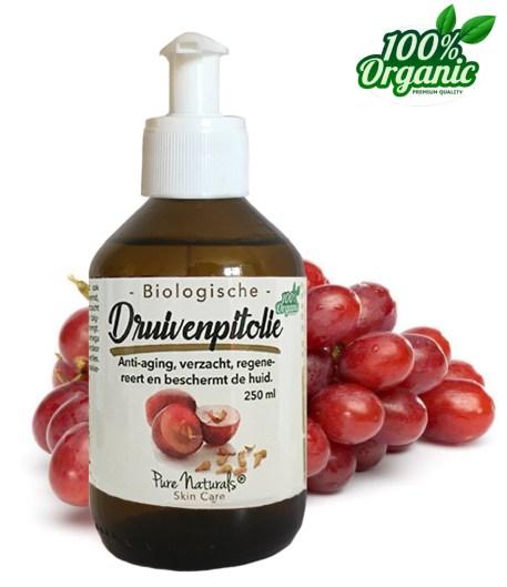 Druivenpitolie | Biologisch | Massage olie | Draagolie | puistjes | Huidolie | Natuurlijk | 100% Puur | kopen