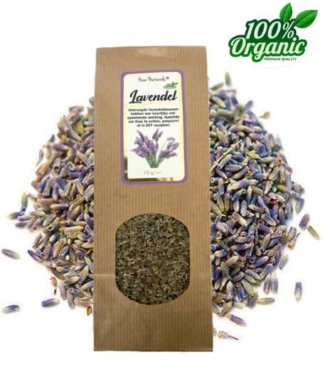 gedroogde lavendel thee DIY scrub