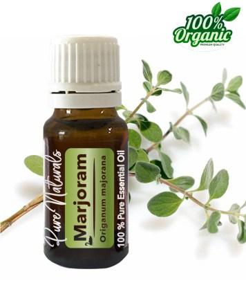 Marjolijn essentiële olie - organic - biologisch - pure naturals