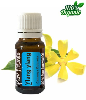 ylang etherische olie essentiële olie - organic - biologisch - pure naturals