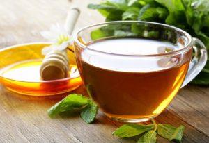 etherische olie als thee