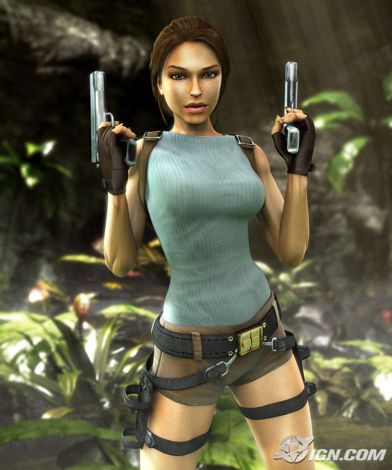 Tomb Raider Game: Lara Croft Tomb Raider Anniversary: Wii