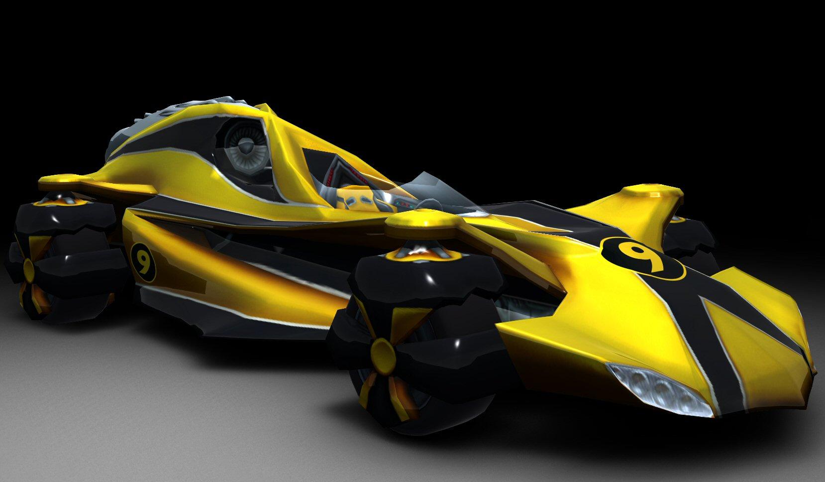 Speed Racer Screens Wii Car Renderings Pure Nintendo