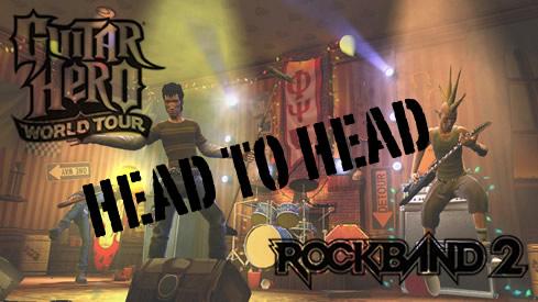 Guitar Hero Head To Rock Band