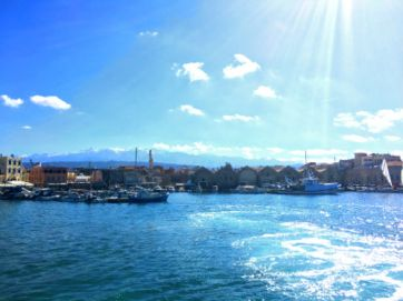chania venetian harbor