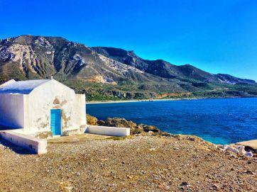 Cretan Church and Sea