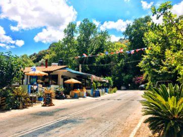 taverna in topolia gorge