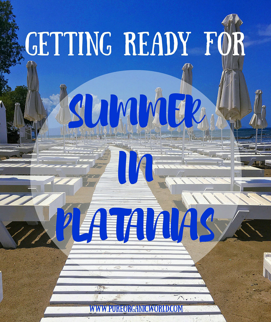Getting Ready For Summer In Platanias
