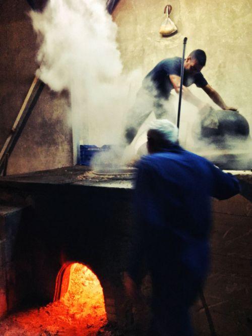 making traditional Raki