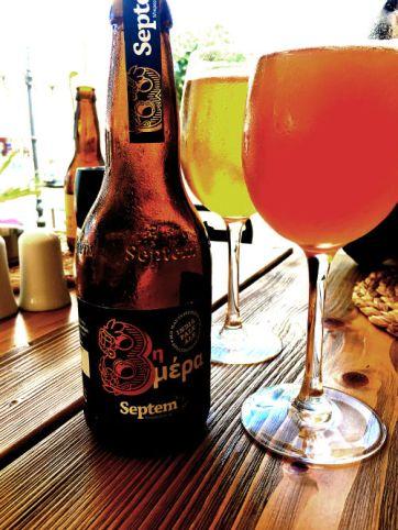 Greek Microbrew - septem beer