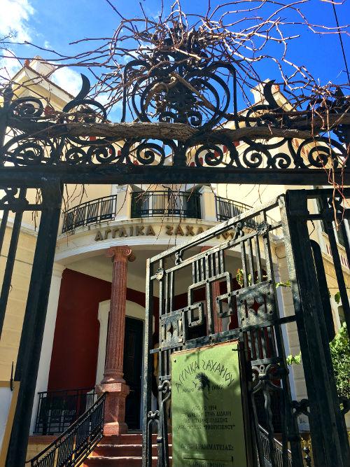 rundown gate in chania