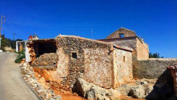 small mountain village ruins