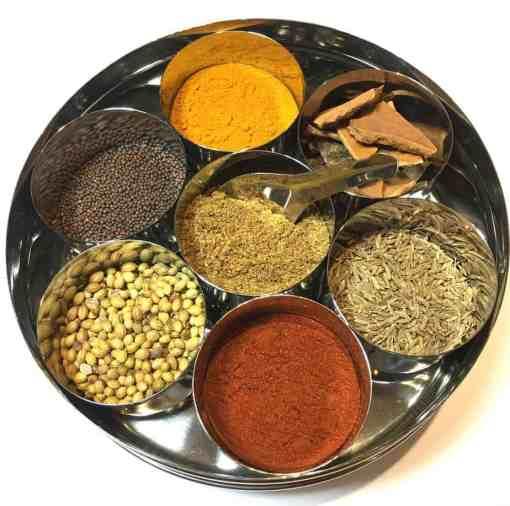 Pure Punjabi Masala Dabba Starter Spice tin collection