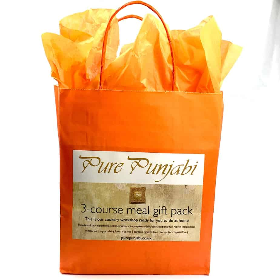 3 course meal gift pack pure punjabi ltd pure punjabi 3 course meal gift pack negle Image collections